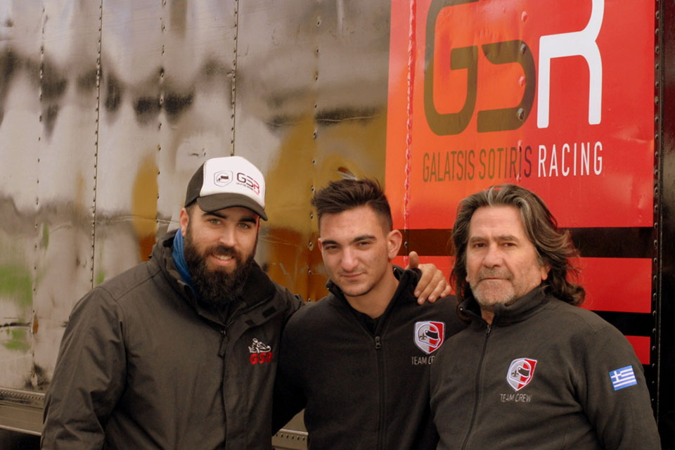 Read more about the article GSR on the track!